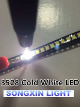 2000PCS SMD LED 3528 Cold White 1210 8-9LM 8500K-13000K Led Lamp SMD diode Surface Mount Led 3.5*2.8*1.9MM(China)