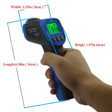 -30~450'C / -22~842'F HoldPeak HP-981B Temperature Meter Gun Non-Contact IR Infrared Digital Thermometer(China)