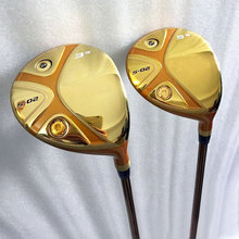 New mens H S-02 5 star Golf fairway wood 3/15 5/18 Golf clubs Graphite Golf shaft R or S flex Wood clubs Free shipping