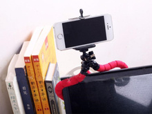 Digital Cameras Portable Small Octopus Tripod Phone Holder for iPhone for Samsung Huawei Xiaomi Gopro for Nikon for Canon(China)