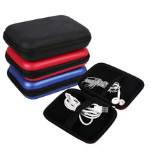 Portable Storage Bags Digital Accessories Cable Earphone Storage Organizer USB Flash Drive Case Bag(China)