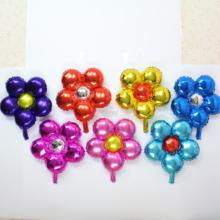 1pc Colorful flower foil balloon wedding party ballon marriage room party decoration flower balls child love toy