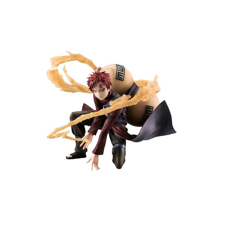 15cm Naruto 5 generation Wind shadow blast Wind country of sand sand hidden village I love Luo model toys<br>