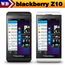 Unlocked Original Blackberry Z10 Dual-core 16G Storage WIFI GPS Black berry z10 cell phones one year warranty(China)