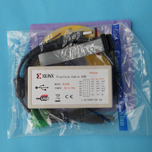 Xilinx Platform Cable USB FPGA CPLD Download the debugger Support the JTAG Slave Serial SPI is stable(China)