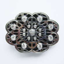 Distribute Belt Buckle Floral Design Belt Buckle Free Shipping 6pcs Per Lot Mix Style is Ok