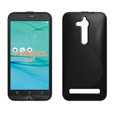Asus Zenfone GO ZB500KG case slim cover silicone bag soft matte tpu ZB500KL capa - kindamart Store store