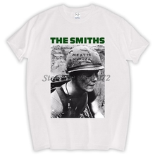The Smiths Meat Is Murder Single Rock Music Band CD T Shirt Unisex