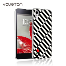 vcustom Banana ice cream white hard cases for Sony Xperia T3 phone case(China)