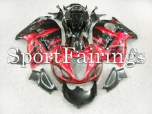 Fairings Fit Suzuki GSXR1300 Hayabusa Year 97 07 1997 1998 2006 2007 ABS Motorcycle Fairing Kit Bodywork Cowling Red Black 2(China)