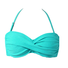 Sexy Bikini Top Women Bandage Swimming bottoms Push-up Padded Bra Bralette Swimsuit String Swimwear tankinis 2 piece beachwear(China)