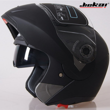 Everyone Affordable Motorcycle helmet flip up helmet,modular helmet,racing helmet free shpping JIEKAI-105(China)