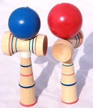 Funny Japanese Traditional Wood Game Toy Kendama Ball Education Gift New Magic Cube(China)