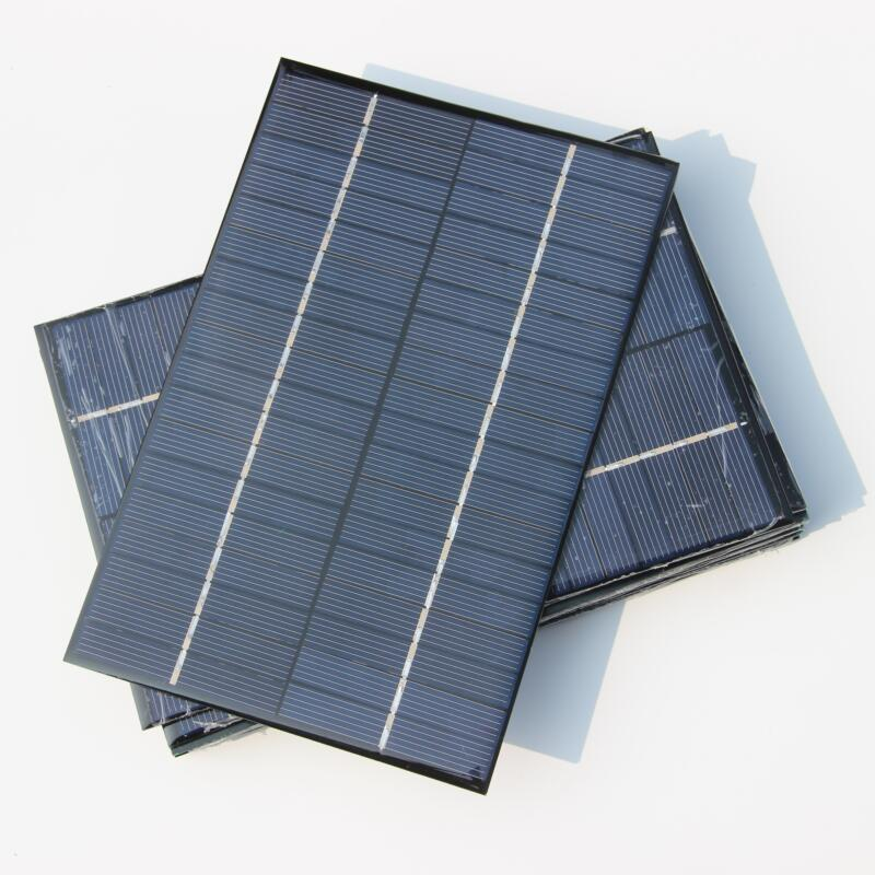 High Quality 4.2W 18V Small Solar Panel/Polycrystalline Silicon Solar Cells DIY Solar Module For Solar Power System FreeShipping(China (Mainland))