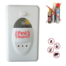 Effective Safe Electromagnetic Electronic Pest Repeller Killer Insect Rodent Mosquitoes Rat Cockroaches Control Pest Reject(China)