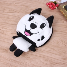 Heating Mouse Pad Practical Cute Animal Cartoon Thick Plush Winter Warm Mouse Pad Hand Warmer USB Port(China)