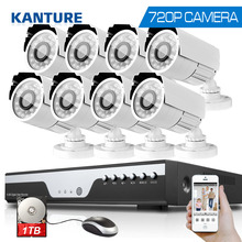 8CH CCTV System 1200TVL Camera Home Security Video Surveillance Kit 720P AHD 1080N DVR HD 720P outdoor Camera USB 3G WIFI DVR 1T