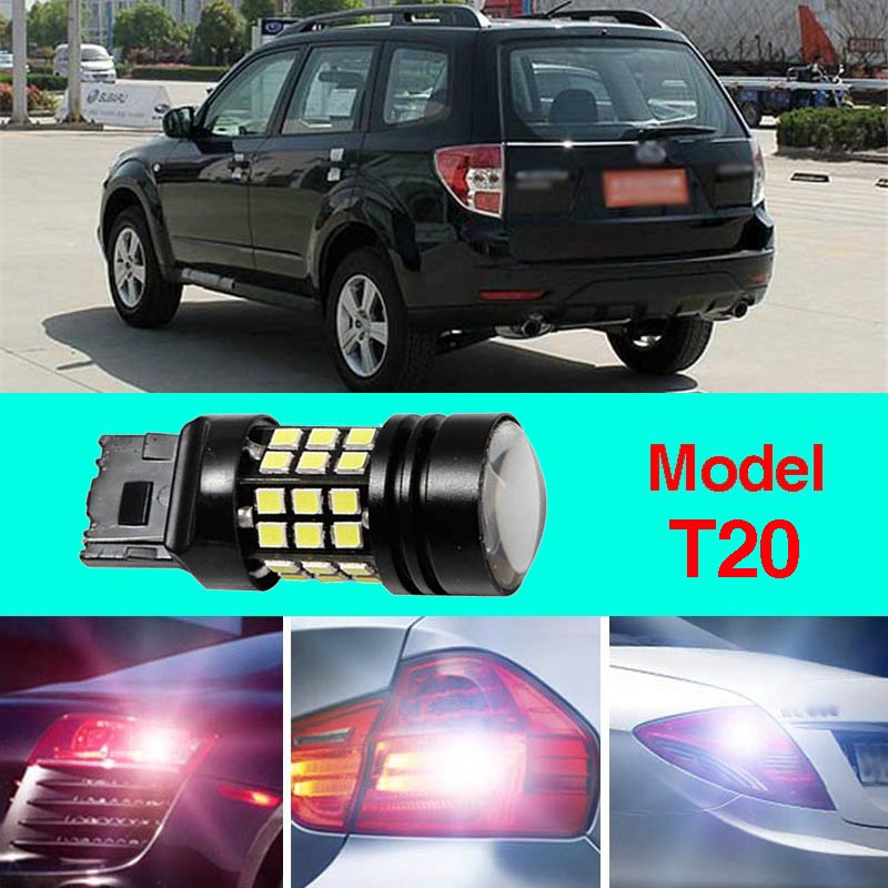 Error Free T20 Socket 360 Degrees Projector Lens LED Backup Reverse light R5 Chips Replacement Bulb For Subaru Forester 2009-12<br>