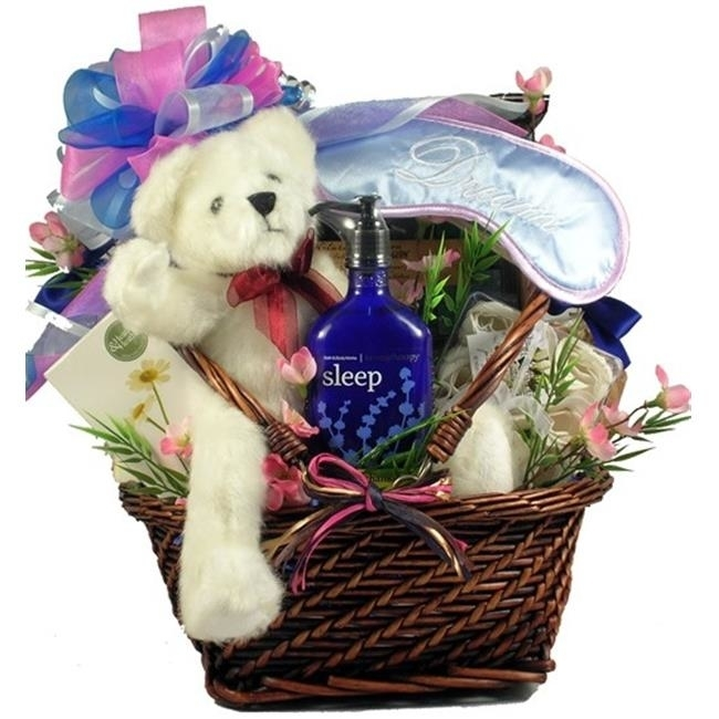 Gift Basket Drop Shipping ReAnRe Rest and Renewal Aromatherapy Spa Gift and Gourmet Basket