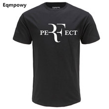Buy 2017 Summer Men Fashion RF Perfect Letters Design T shirt Roger Federer Short Sleeve T-shirts O-Neck Streetwear Tees HipHop Tops for $5.73 in AliExpress store