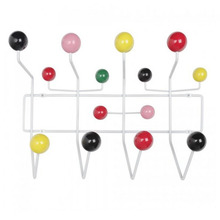Hang Alls Coat Hanger Rack Wood Balls Hang It All Wall Coat Rack(China)