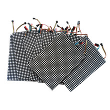 10X Wholesale addressable SK9822 RGB LED flex led matrix screen 30*22LEDs /20*14LEDs/15*10LEDs/10*7LEDs/8*8LEDs free shipping(China)