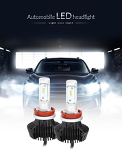 H8 / H9 / H11 All-in-One Car Headlights Integrated LED 6500K Water Resistance 60W Super Brightness Auto Front Bulb Headlamp