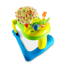 Free Shipping 2 in 1 Musical Activity Walker Baby TunesTiny Steps Walker Behind with Discovery Center