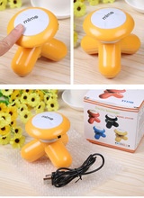 USB portable Electric Handled Vibrating Mini Full Body Massager Butterfly Design Body relax Massage Muscle hand and neckMassager(China)