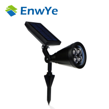 EnwYe Solar lamps high power 4LED waterproof outdoor lawn Gardens energy saving light Lamp Bulb Lighting - 365+ Store store