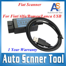 2016 Lowest Price F iat Scan Tool OBD Diagnostic For Fi at / Alfa Romeo / Lancia USB Fi at Scanner with LED Easy to Use