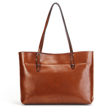 Nesitu Women's Handbags Women Leather shoulder bag Office Work Woman Tote #M8825