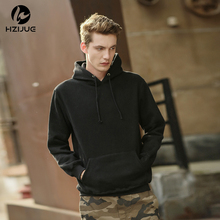 New Autumn Winter black Thin Sweatshirts Men/women Hooded Hoodies With Hat Fashion Hoody Tops(China)