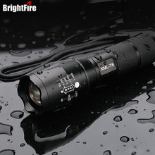 Professional CREE XML-T6 5-Modes LED Flashlight Waterproof Zoomable Adjustable Torch Lights Mini Penlight Lanterna(China)