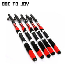 1.5M 1.8M 2.1M 2.4M 2.7M 3.0M 3.6M 4.5M Portable Telescopic Fishing Rod Glass Fiber Fishing Pole Travel Sea Fishing Spinning Rod