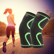 Breathable warmth Basketball Football sports safety Kneepad volleyball Knee Pads Training Elastic Knee Support knee protect 1PCS