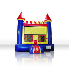 Free Shiping Bouncer House Inflatable Bouncer Castle Jump Castle Inflatable Slide Castle Modle Toy For Kids(China)