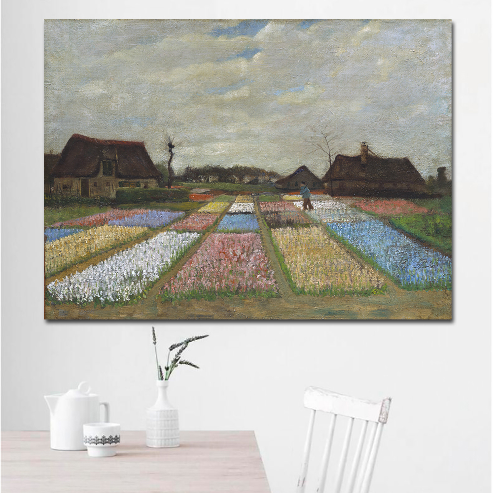 Flower Beds in Holland-70x95