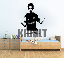Lionel Messi Barcelona Football Sport Wall Art Sticker Decal Wall Mural Vinyl