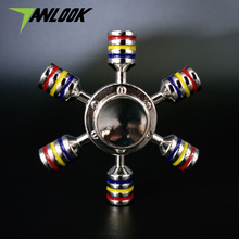 Buy Tanlook Fidget spinner metal rainbow Hand spinner Top spinner toy fidget Handspinner Finger Spiner-hand Anti-stress wheel for $2.99 in AliExpress store