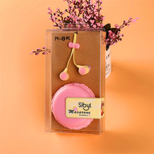 New Colorful Macarons Design Earphone Stereo Headphones Auriculares Cute Headphone For Mobile Phone MP3/4 XiaOmi iphone M85