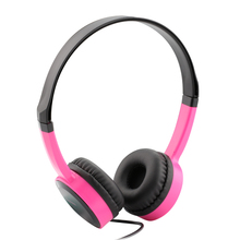 2016 Stereo Heavy Bass DJ Headset Headband Girls Auriculares With Mic Kanen IP-350 Gaming Headphone For Computer PC Gamer Mobile(China)