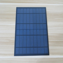 1PC X Solar Panel 10W 9V 1.1A Mini PET monocrystalline polycrystalline cell charge for 6V battery(China)