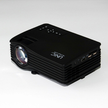 JEDX UC46 projector business education short focal length design entertainment home portable free shipping
