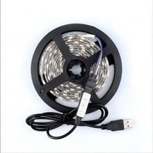 5V USB LED Strip  SMD 3528 5050 5M 1M  Cable LED 5V USB LED Strip Light TV Background Lighting Waterproof Holiday lights