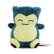 Plush Toys Kawaii Totoro  Snorlax Plush Soft Stuffed Animal Doll Kids Toys Pikachu 15cm