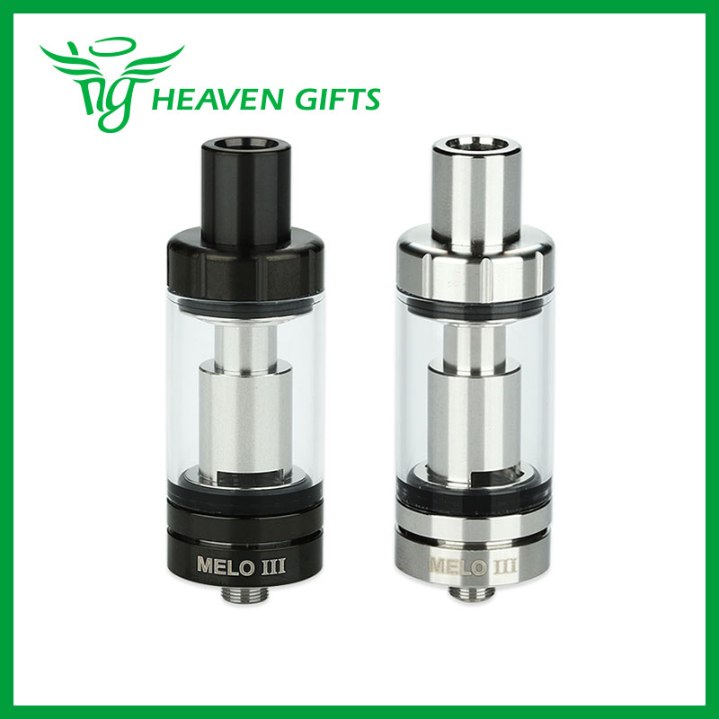 Eleaf Melo 3 Atomizer 4ml Top Filling Airflow Control Subohm Tank Melo III Electronic Cigarette Atomizer Steel Black Available<br><br>Aliexpress