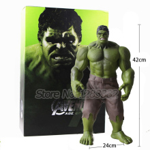 Action Toy Figures 2017 Hot Collect Toys HULK PVC Toy Big Size Hulk Hulkbuster 42cm Model Toys (no original packing box)(China)