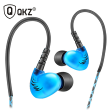 QKZ S6 Sports Headphones Mobile Phone Earphones With Microphone HIFI Noise Cancelling Bass Headsets Music Stereo Headphones(China)