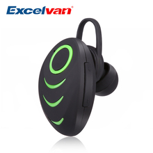 Excelvan A3 Wireless Bluetooth4.0 Neckband Earphone HiFi Stereo Music Earset With Built-in Microphone USB port For Sport Driving(China)